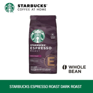 STARBUCKS Espresso Roast Dark Roast Whole Bean Coffee 200g/bag