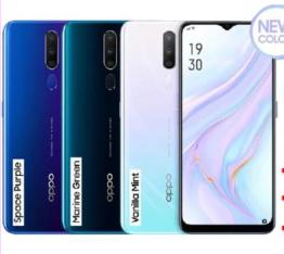 OPPO A9 2020 Smartphone ( 8+128GB )