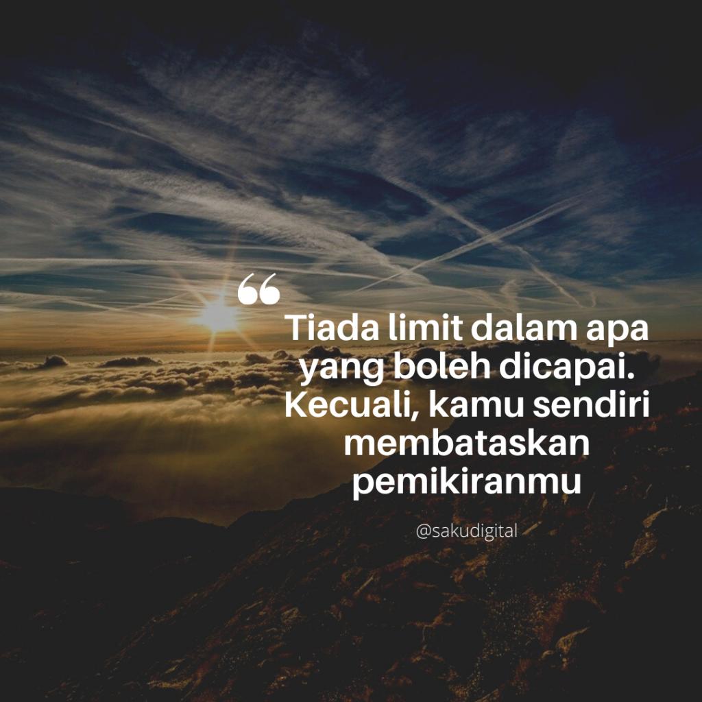 Tiada limit dalam apa yang boleh dicapai