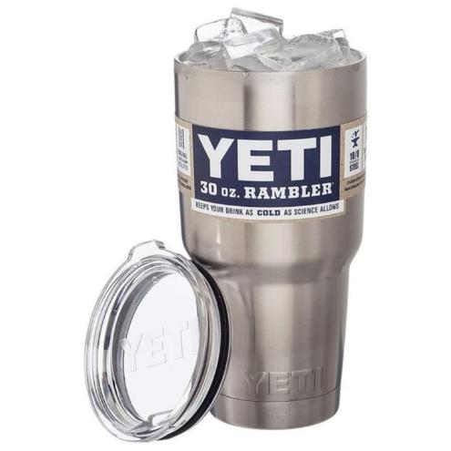 Yika Rambler Stainless Steel Coffee Mug Cup Insulated 30oz Tumbler New