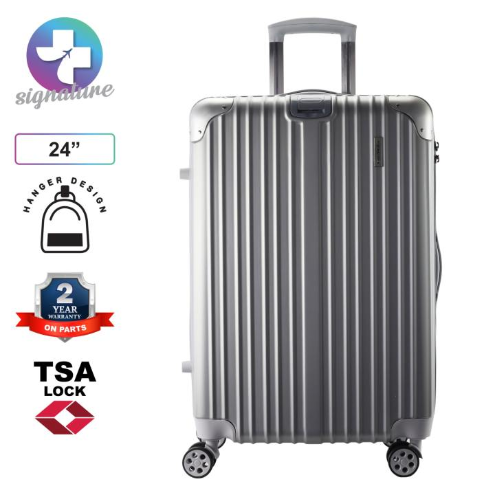 Case Valker Signature Flawless ABS + PC Hardcase Luggage Bag TSA Suitcase 24 inches