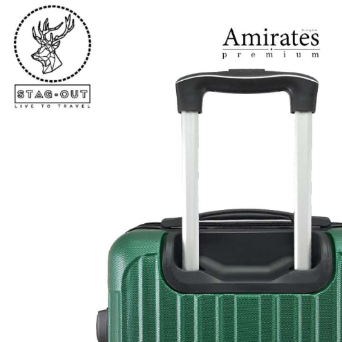 Amirates Premium 24 Protector ABS Hardcase Multiwheel Travel Check-In Luggage