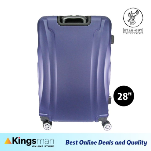 Premium ABS Hardcase 28 Travel Check-In Luggage Bag Bagasi Suitcase