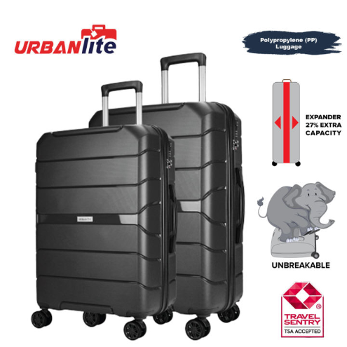 Urbanlite Edge PP 2in1 (20+24) Expandable 8-Wheel Spinner Hard Case Luggage - ULH 9922