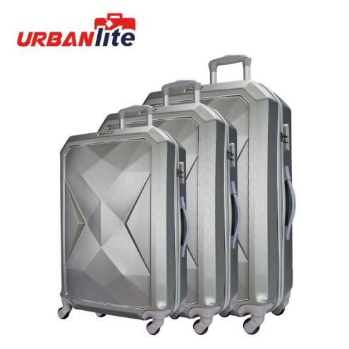 Urbanlite Rubik 20+24+28 inch 4-Wheel Spinner Hard Case Luggage