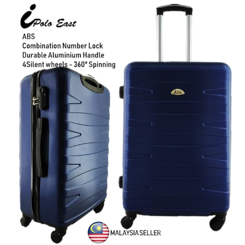 IPOLO EAST TRAVEL LUGGAGE 20INCH ABS -BLACK