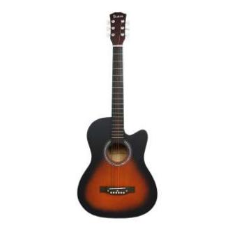 Taloha Acoustic Cutaway Matte Guitar 38-Inch
