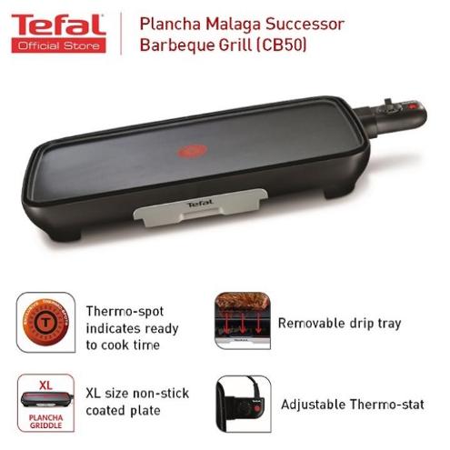 Tefal Plancha Malaga Sucessor BBQ Griller (CB50)