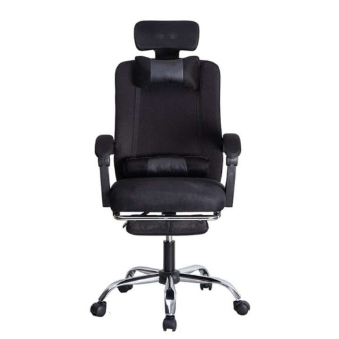 ActiveOne Ergonomic Designed High Backrest Swivel Mesh Office Chair With Footrest