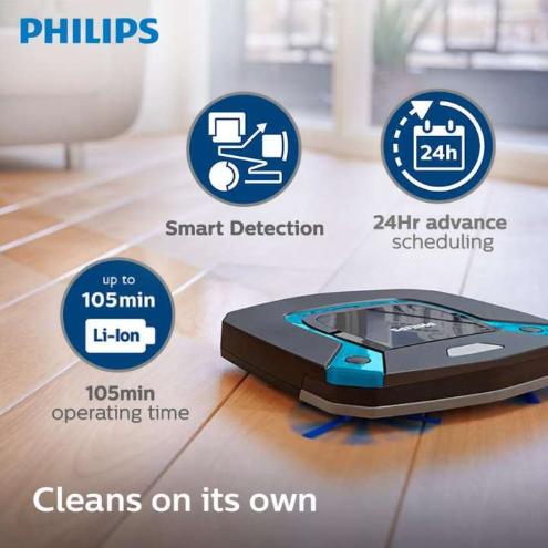 Philips SmartPro Easy Robot Vacuum Cleaner FC8794