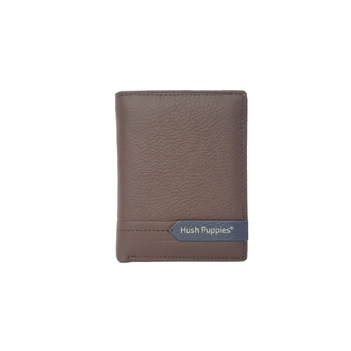 Hush Puppies Men's Slg - Tall Wallet - Dark Brown