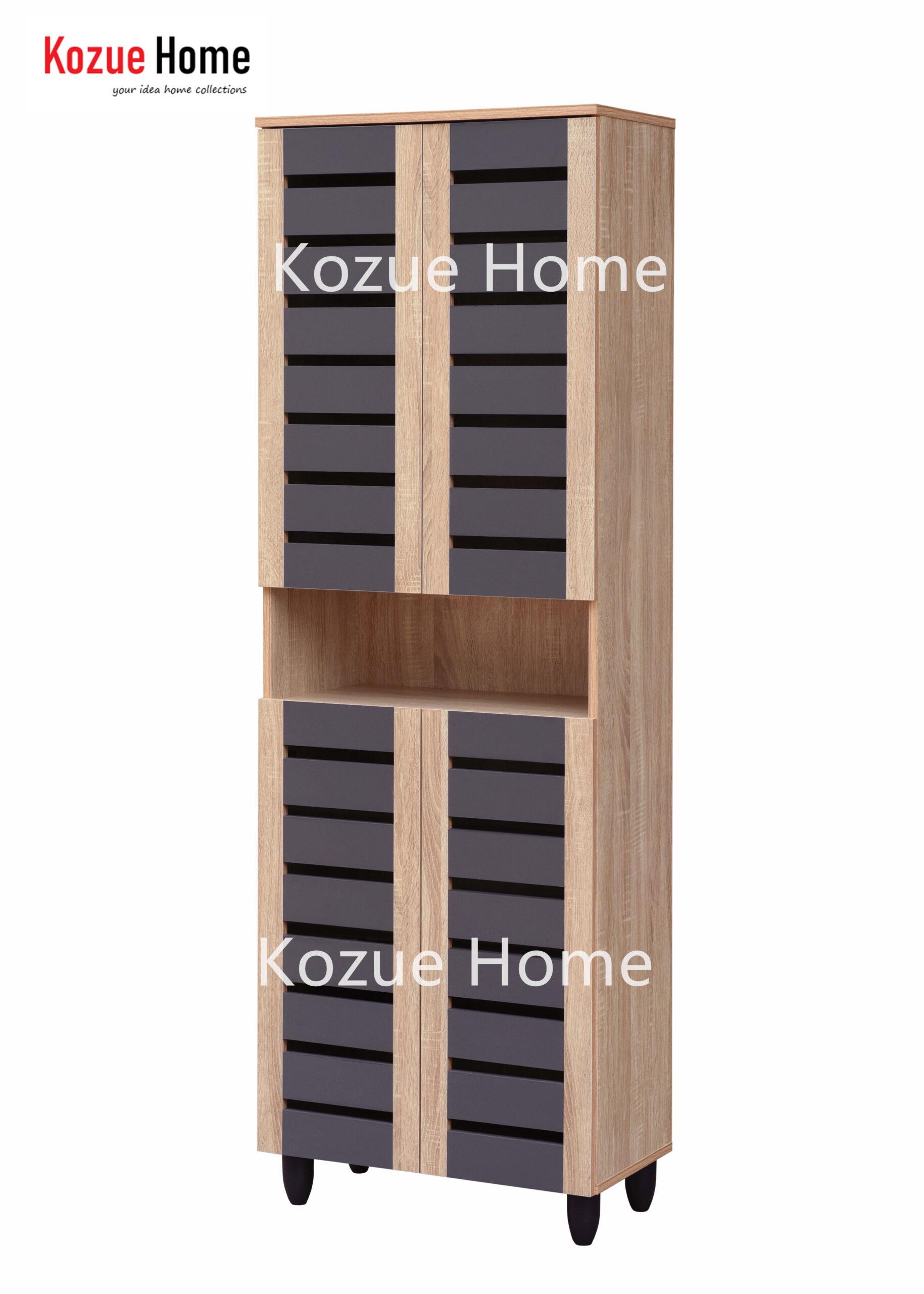 Tori 4 Doors Shoes Cabinet / Shoes Rack / Multi-function Cabinet