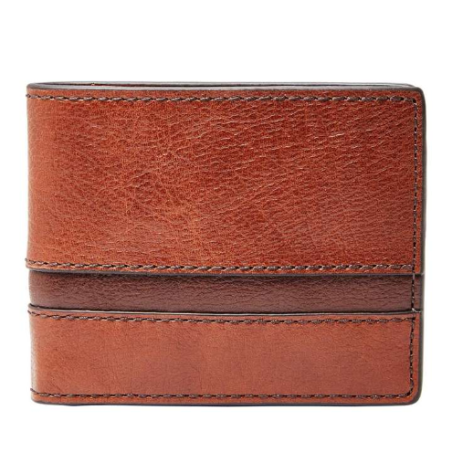Fossil Easton RFID Brown Wallet