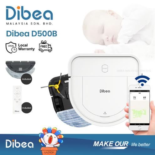 Dibea D500-B Robotic Vacuum Cleaner