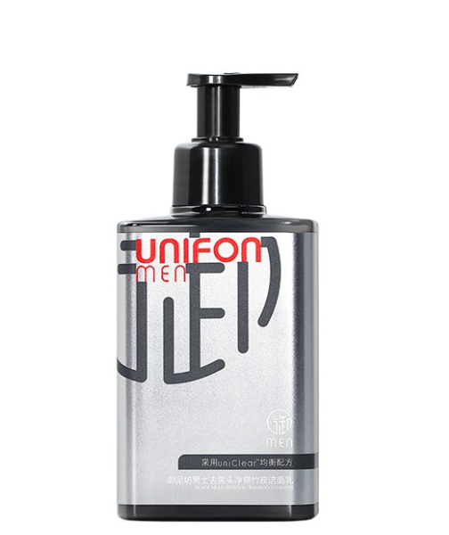 Unifon Men's Bamboo Charcoal Cleanser Cleansing Oil Control Blackhead Cleanser