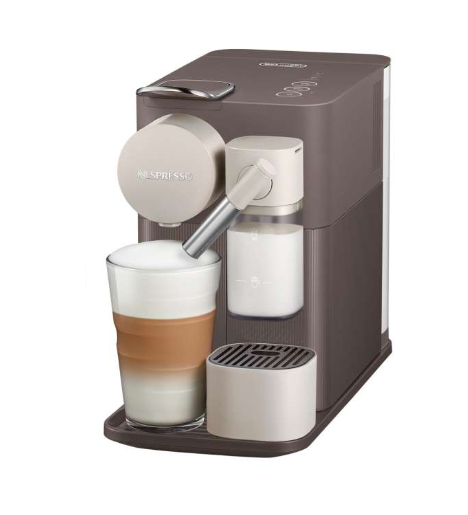 Nespresso F111-ME-BW-NE Lattissima One Mocha Brown Coffee Machine