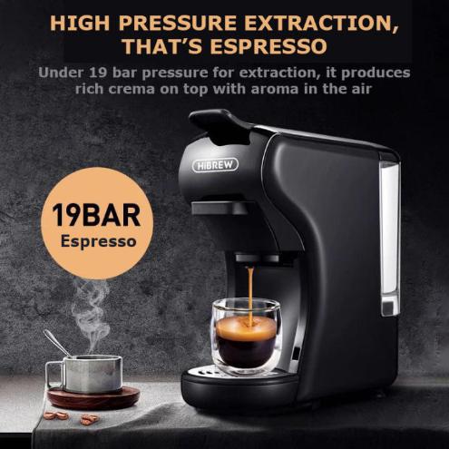 HiBREW 3-in-1 Capsule Coffee machine